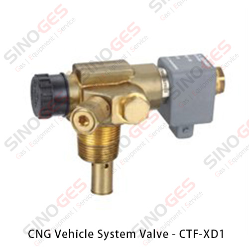 CNG Vehicle System Valve - CTF-XD1