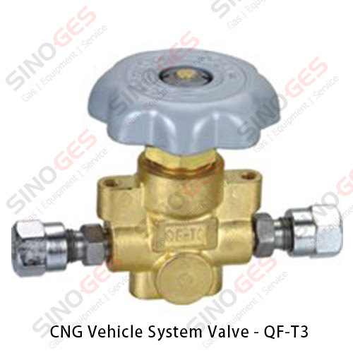 CNG Vehicle System Valve - QF-T3