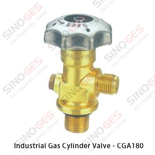 Industrial Gas Cylinder Valve - CGA180
