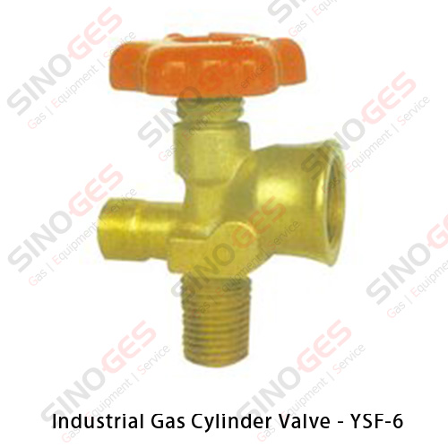 Industrial Gas Cylinder Valve - YSF-6