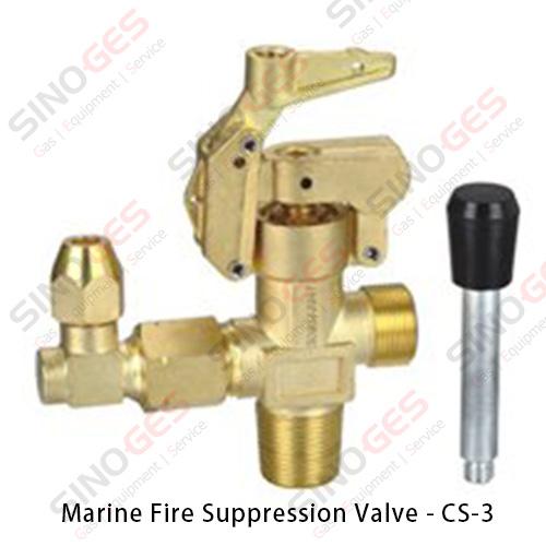 Marine Fire Suppression System Valve - CS-3
