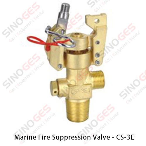 Marine Fire Suppression System Valve - CS-3E