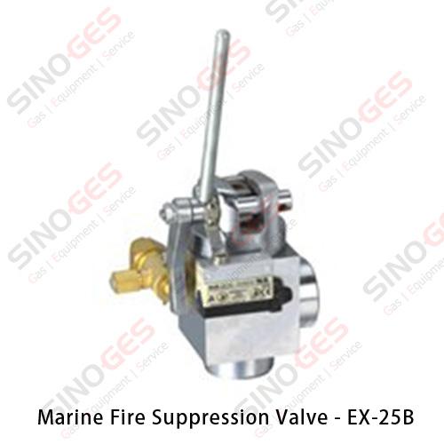 Marine Fire Suppression System Valve - EX-25B