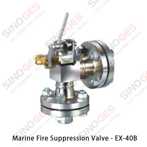 Marine Fire Suppression System Valve - EX-40B