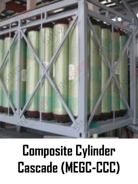 Sinoges Products - Composite Cylinder Cascade (MEGC-CCC)