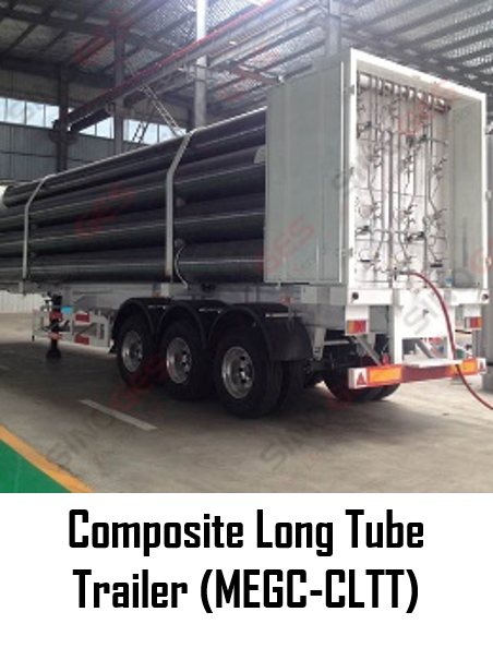 Sinoges Products - Composite Long Tube Trailer (MEGC-CLTT)