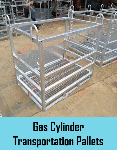 Sinoges Products - Gas Cylinder Transportation Pallets
