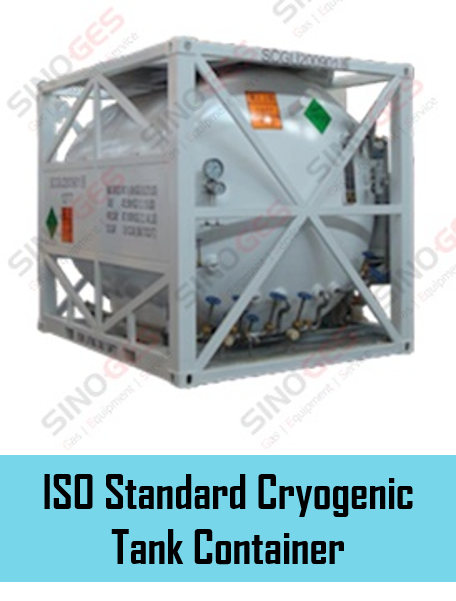 Sinoges Products - ISO Standard Cryogenic Tank Container 1