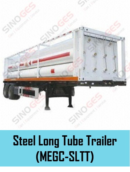 Sinoges Products - Steel Long Tube Trailer (MEGC-SLTT)