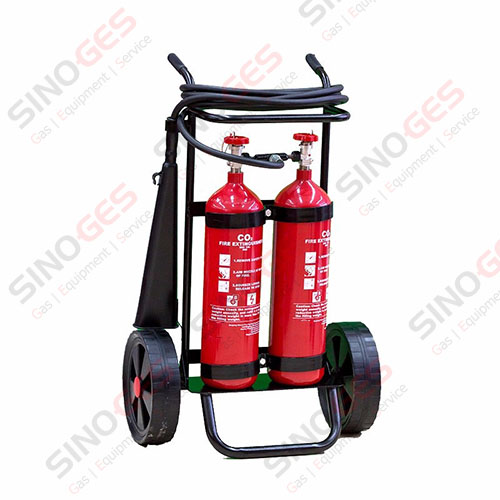 Sinoges_34CrMo4_Steel_Alloy_Fire_Extinguisher_Metallic__Transportable_double_CO2_Cylinder_with_trolley